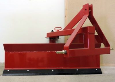Push pull plow, rotates 360 degrees