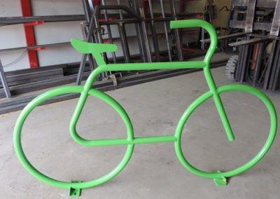 Custom bike racks for the Town of Hanover
