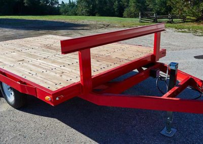 12' flat-deck trailers,  built workhorse tough to outlast the competition.