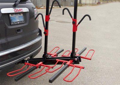 Custom bike racks built to fit any vehicule